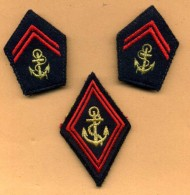 Lot  Infanterie Colo  -  TDM - Ecussons Tissu