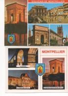 3025  Lote De 2  Postales Francia , Montpellier  Vistas Varias - Montpellier