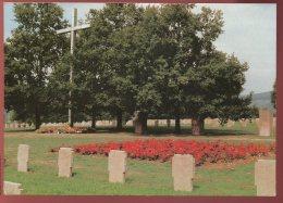 CPM Neuve 67 NIEDERBRONN Cimetière Militaire Allemand Deutscher Soldatenfriedhof - Niederbronn Les Bains