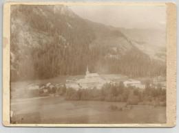 Photographie Abondance - 74 Haute Savoie - Photo Collée Sur Carton Septembre 1892 , 16 X 13 Cm Env - Photos