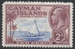 Cayman Islands. 1935 KGV. 2d MH. SG 100 - Cayman Islands