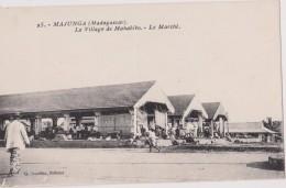 MADAGASCAR,MALAGASY,malgache,MAJUNGA,1900,marché,animée - Madagascar