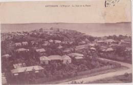 MADAGASCAR EN 1914 ,MADAGASIKARA,ile Volcanique,Diégo Suarez,diana,ANTSIRANANA,ANTSIRANE,HOPITAL - Madagascar