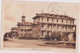 MADAGASCAR,MADAGASIKARA,MALAGASY,ile,sud équateur,ex Colonie Française,ANTSIRABE,EN 1934,2 Timbres,HOTEL - Madagascar