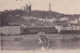 LYON  Le Pont Du Palais De Justice Et Fourvière - Lyon