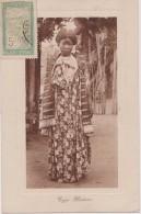 MADAGASCAR,MADAGASIKARA,MALAGASY,ile,sud équateur,ex Colonie Française,timbre,femme,robe,MAKOA,1911 - Madagascar