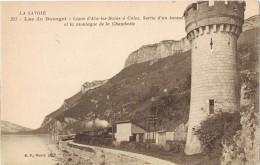 18044. Postal Montagne De La CHABOTTE (Savoie) Lac De BOURGET - Francia