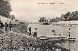 1707. CPA 44 LE POULIGUEN. LE BAC. - Le Pouliguen