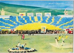 MONGOLIA ULANBATOR'S STADIUM - OULAN-BATOR - GYMNASTIQUE - STADE MONGOLIE - Mongolie