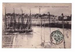 § 62 Calais Le Port à Marée Basse Cachet Calais 1921 - Calais