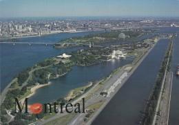 CANADA------MONTREAL---vue Aérienne Des Iles Notre-dame Et Ste-hélène---voir 2 Scans - Montreal