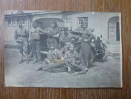 TROISDORF ALLEMAGNE CARTE POSTALE PHOTO 1925 - Reggimenti