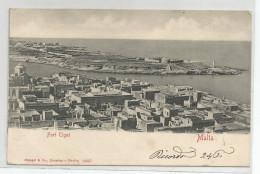 Malte - Malta - Fort Tigné Ed Stengei Desden Berlin 14057 - Timbre Poste Italiane Dos Voir Scan - Malta