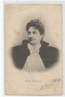 Cpa Reina Margarita Reine Marguerite 1904 Autographe Palma Tarjeta Postal Espagne Espana - Autographes
