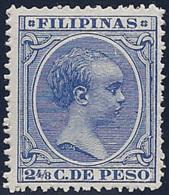 ESPAÑA/FILIPINAS 1890 - Edifil #81 - MNH ** - Filipinas