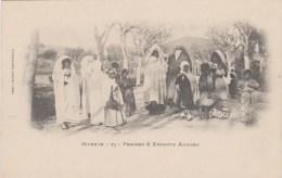 TUNISIE - BIZERTE - Femmes Et Enfants Arabes 23 - Tunisia