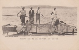 TUNISIE - BIZERTE - Un Coup De Filet à La Pêcherie 54 - Tunisia