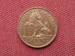 BELGIQUE Monnaie De 2 Cts 1914 Jamais Circulée Quasi Neuve - 1909-1934: Albert I