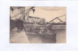 8.  -  RABAT  (Maroc).  -  Embarquement  De  L'Artillerie  De  75  Pour  Traverser  L'Oued  Bou-Rgreb - Rabat