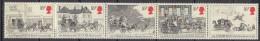 GRANDE BRETAGNE      1984                  N.        1135 / 1139        COTE    6 . 25    EUROS          ( V 348 ) - Neufs