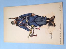 CARTE COULEUR ILLUSTREE PAR CHARLES MOREL-CLAIRON TENUE DE CAMPAGNE-  TBE - Uniformi
