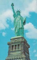 New York City Statue Of Liberty On Liberty Island