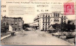 CEYLAN - COLOMBO - York Street - Cartes Postales