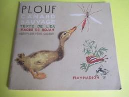 Enfant/Plouf Canard Sauvage /Texte Lida /Dessins Rojan/ /Album Du Pére Castor/Flammarion/1949         BD87 - Livres, BD, Revues