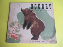 Enfant/BOURRU L´Ours Brun/Texte Lida /Dessins Rojan/ /Album Du Pére Castor/Flammarion/1949         BD88 - Books, Magazines, Comics