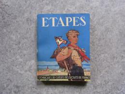 ETAPES Techniques De Classes Des Scouts De France 1962 - Scouting