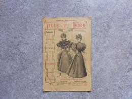 Catalogue Grands Magasins De La Ville De St-Denis 1896 - Catalogues