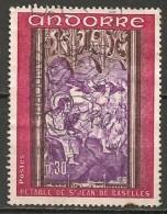 Timbres - Andorre Français - 1970 - 0.30 Fr. - N° 206 -