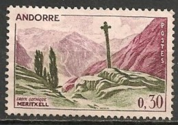 Timbres - Andorre Français - 1961 - 0.30 Fr. - N° 159 -
