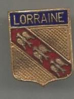 Pin's  Blason  Lorraine - Villes