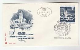 1975 Bregenz AUSTRIA FDC  BREGENZER FESTIVAL  Stamps SPECIAL Pmk  Cover Heraldic - FDC