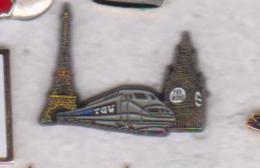 Pin's  TGV PARIS LONDRES - TGV