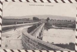 6AI2354 FLAVIGNY SUR MOSELLE LE PONT CANAL 2 SCANS - France
