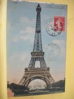 75 1522 - PARIS - LA TOUR EIFFEL ET LE PALAIS DU TROCADERO - 1912 - Tour Eiffel