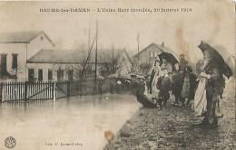 25 Baume Les Dames L Usine Herr Inondée 20 Janvier 1910 - Baume Les Dames