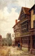 SALMON ART - QUATREMAIN 3568 - HARVARD HOUSE - Stratford Upon Avon