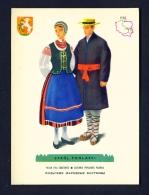 POLAND  -  Regional Costumes  Stroj Podlaski  Unused Postcard - Costumes