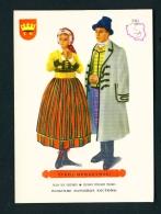 POLAND  -  Regional Costumes  Stroj Opoczynski  Unused Postcard - Costumes