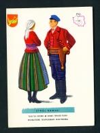 POLAND  -  Regional Costumes  Stroj Rawski  Unused Postcard - Costumes