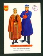 POLAND  -  Regional Costumes  Stroj Sieradzki  Unused Postcard - Costumes