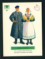 POLAND  -  Regional Costumes  Stroj Lubuski  Unused Postcard - Costumes
