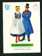 POLAND  -  Regional Costumes  Stroj Jamnenski  Unused Postcard - Costumes