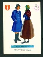 POLAND  -  Regional Costumes  Stroj Kaszubski  Unused Postcard - Costumes