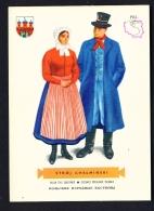 POLAND  -  Regional Costumes  Stroj Chelminski  Unused Postcard - Costumes