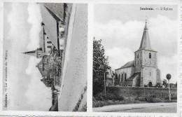 ORP-JAUCHE. JANDAIN.  LA CHAUSSEE DE WAVRE - L'EGLISE. - Orp-Jauche