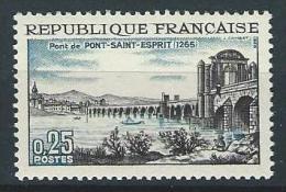"""FR YT 1481 """" Pont-Saint-Esprit """" 1966 Neuf** - Ungebraucht"""